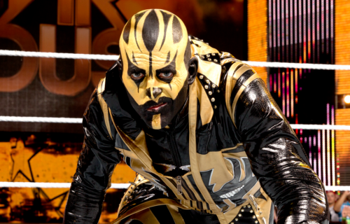 Edge talks about steam coming out of Dustin Rhodes' Goldust suit due to heat