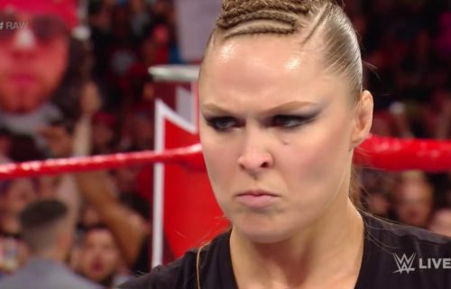 Ronda Rousey's RAW debut match announced for next week