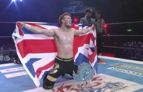 Will Ospreay is impressed with 205 Live's Buddy Murphy