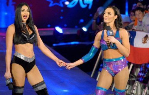 Peyton Royce & Billie Kay's reaction to being called up on main roster