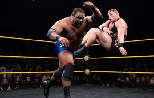 Keith Lee returns at NXT Live Event