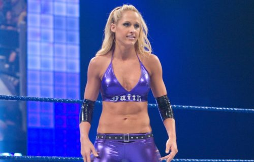 Michelle McCool reveals she tested positive for COVID-19