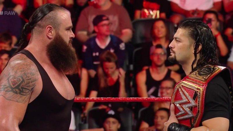 Braun Strowman - Roman Reigns