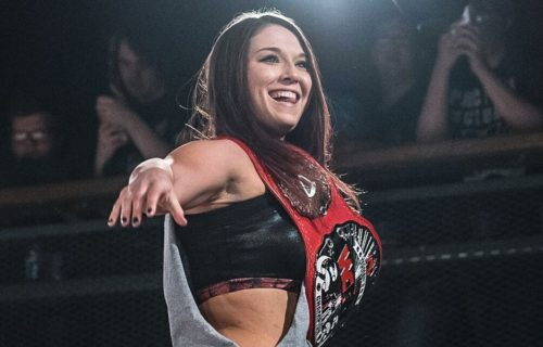 Tegan Nox was set to make it to the finals of the Mae Young Classic before injury