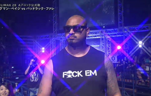 Bad Luck Fale says early Bullet Club wasn't racially motivated