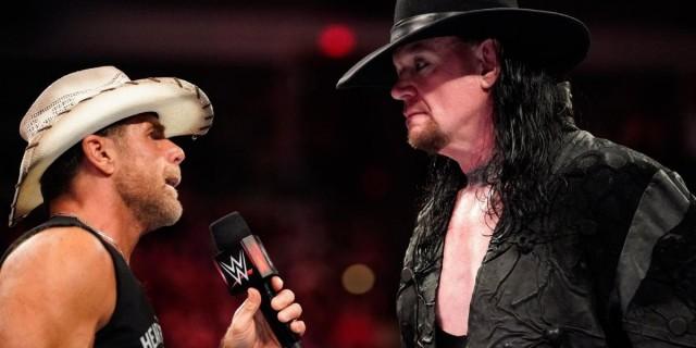 Shawn Michaels - The Undertaker