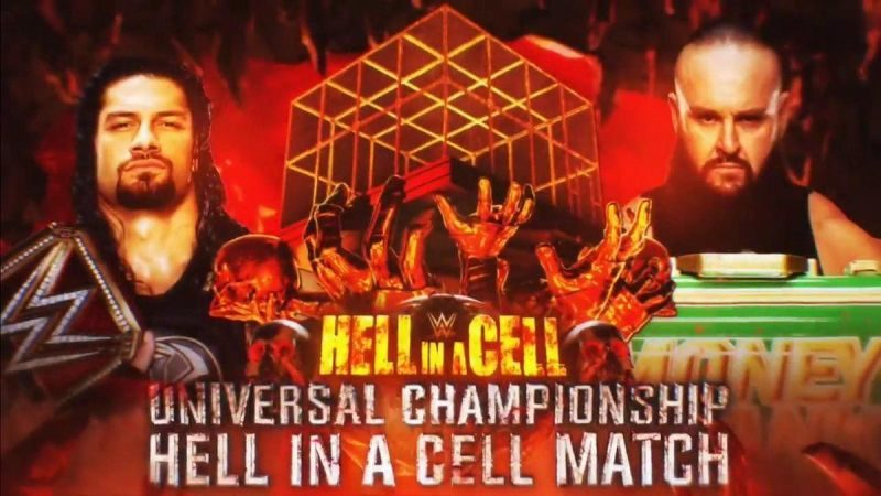 Hell in a Cell Strowman Reigns