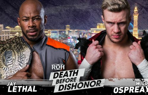 Will Ospreay receives heavy praise from Jay Lethal