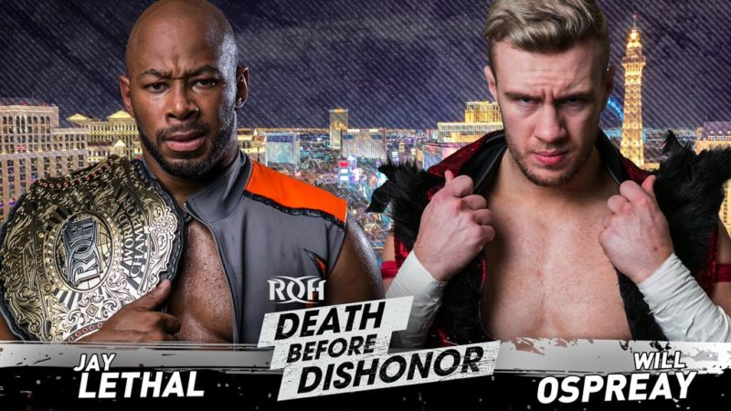 Jay Lethal - Will Ospreay