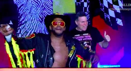 Jay Lethal brings back the Black Machismo gimmick at ALL IN