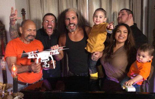 Hardy Family Halloween Special for WWE Network has begun filming