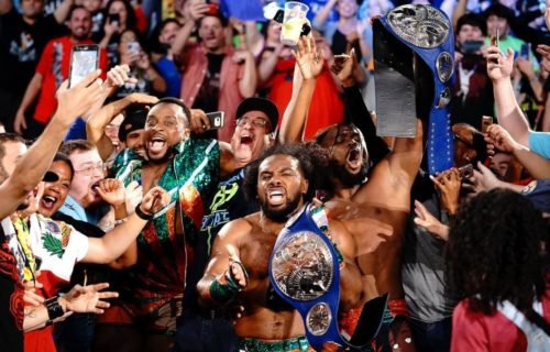 Xavier Woods bet his entire wrestling career with Vince McMahon over the New Day