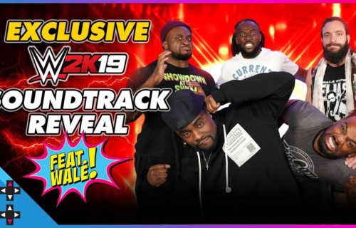 WWE 2K19 sound track featuring Wale, New Day and Elias