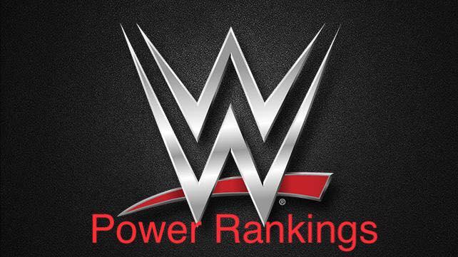 WE WWE Power Rankings