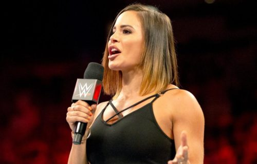 Charly Caruso Went To Smackdown With Top AEW Name