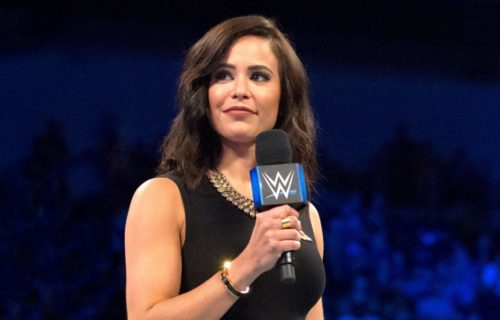 Charly Caruso Reveals Pink Hair After Missing Raw