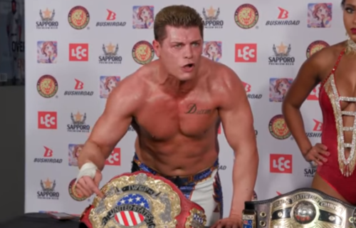 Cody Rhodes doesn't fear WWE or anyone else