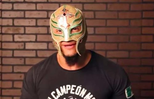 Rey Mysterio talks if he would bet his mask in a match