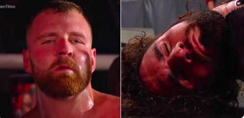 Dean Ambrose turns heel on Seth Rollins right after they win the RAW Tag Titles