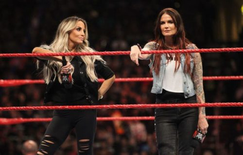 Trish Stratus currently training for possible match at Summerslam