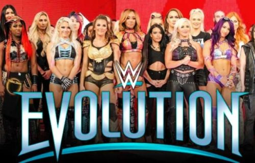Twitter reacts to WWE Evolution