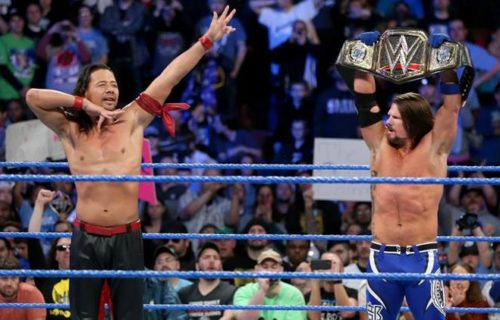 AJ Styles on why WrestleMania 34 match with Shinsuke Nakamura was disappointing