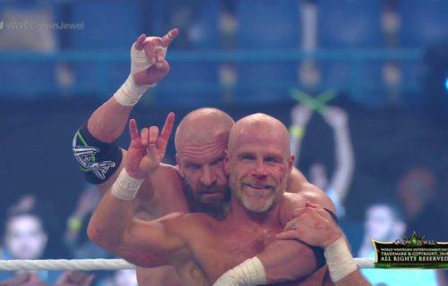 Triple H suffers injury at WWE Crown Jewel