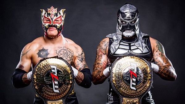 Lucha Bros MLW Champions