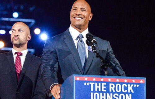 Chris Jericho thinks The Rock could become President of the United States
