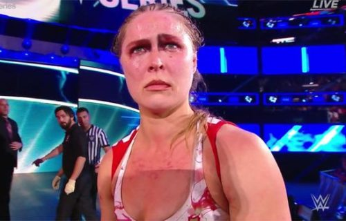 Ronda Rousey seemed infuriated with crowd at Survivor Series after her match