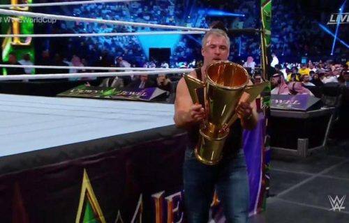 Backstage update on Shane McMahon's WWE World Cup win