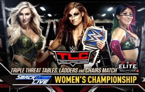 Likely reason for Asuka's inclusion at WWE TLC