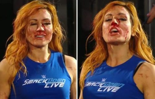 Fan video shows who is responsible for injuring Becky Lynch on Raw