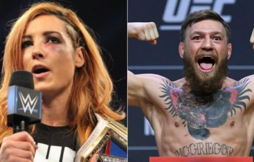 Becky Lynch drop big hint at Connor McGregor appeareance