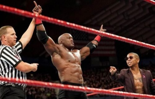 Lio Rush claims that WWE never had plans for a match between Brock Lesnar and Bobby Lashley