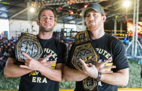 The Undisputed Era to defend tag titles on NXT
