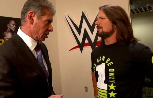 AJ Styles attacks Vince McMahon on Smackdown Live
