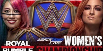 Asuka vs Becky Lynch at Royal Rumble 2019