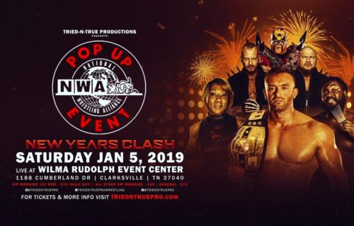 James Storm to challenge for the NWA World Heavyweight Championship