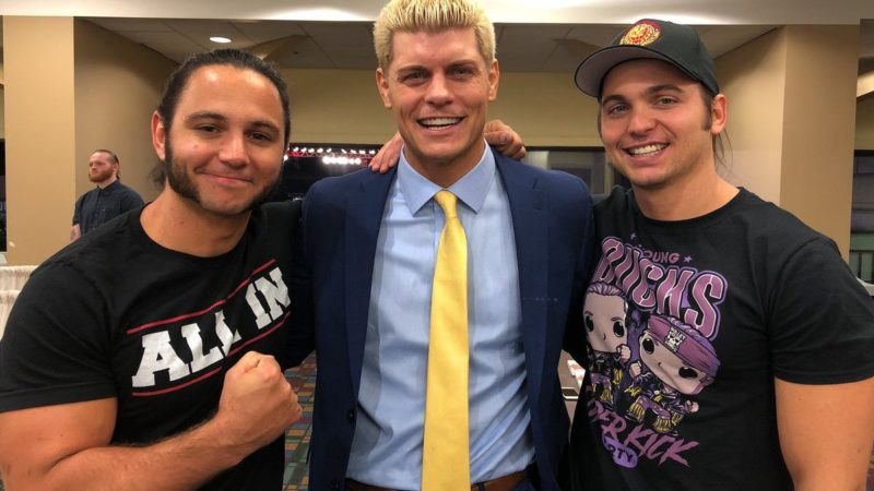 The Elite - Cody Rhodes - The Young Bucks