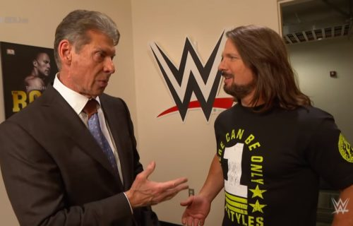 WWE wants AJ Styles hitting Vince McMahon to be forgotten by fans