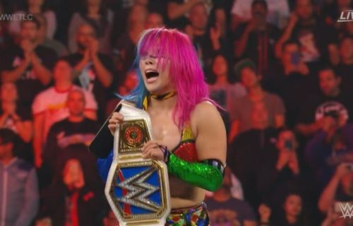 Asuka wins Championship with interference from Ronda Rousey