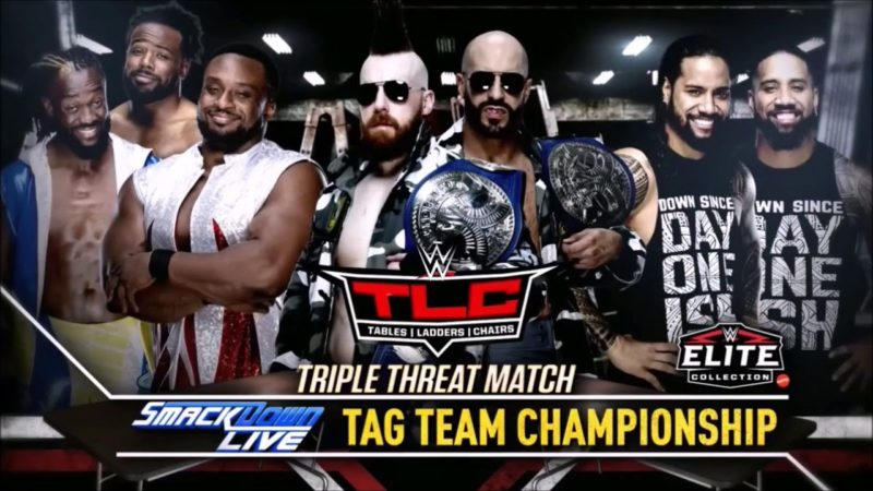 WWE TLC SD Tag Title Match