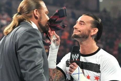Triple H 'Secret Meeting' With CM Punk Leaks