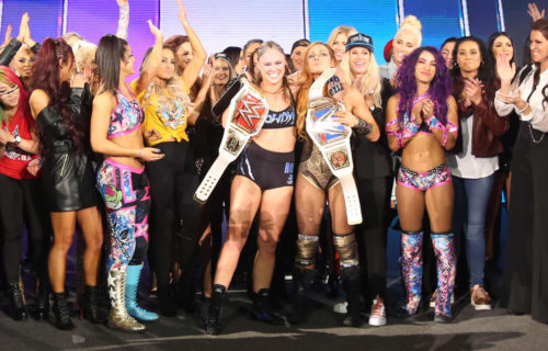 WWE possibly considering ''Queen Of The Ring'' all-women's pay-per-view next year