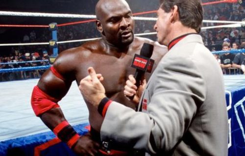 Ahmed Johnson on infamous kiss with Goldust and more