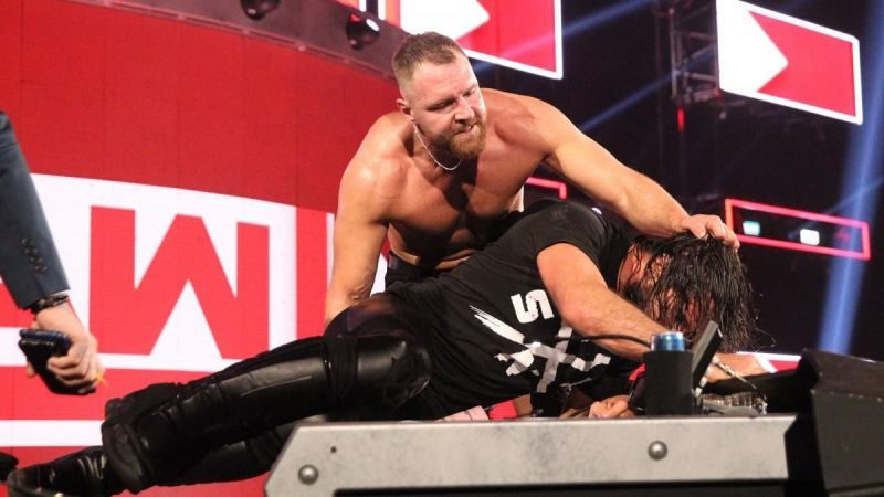 Dean Ambrose - Seth Rollins - Monday Night RAW - Intercontinental Championship