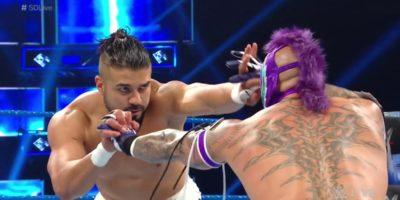 Andrade vs Rey Mysterio - SmackDown Live