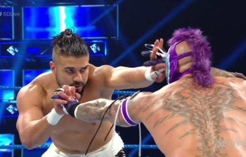 What WWE is planning for Rey Mysterio & Andrade