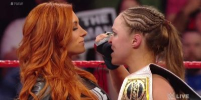 Becky Lynch vs Ronda Rousey